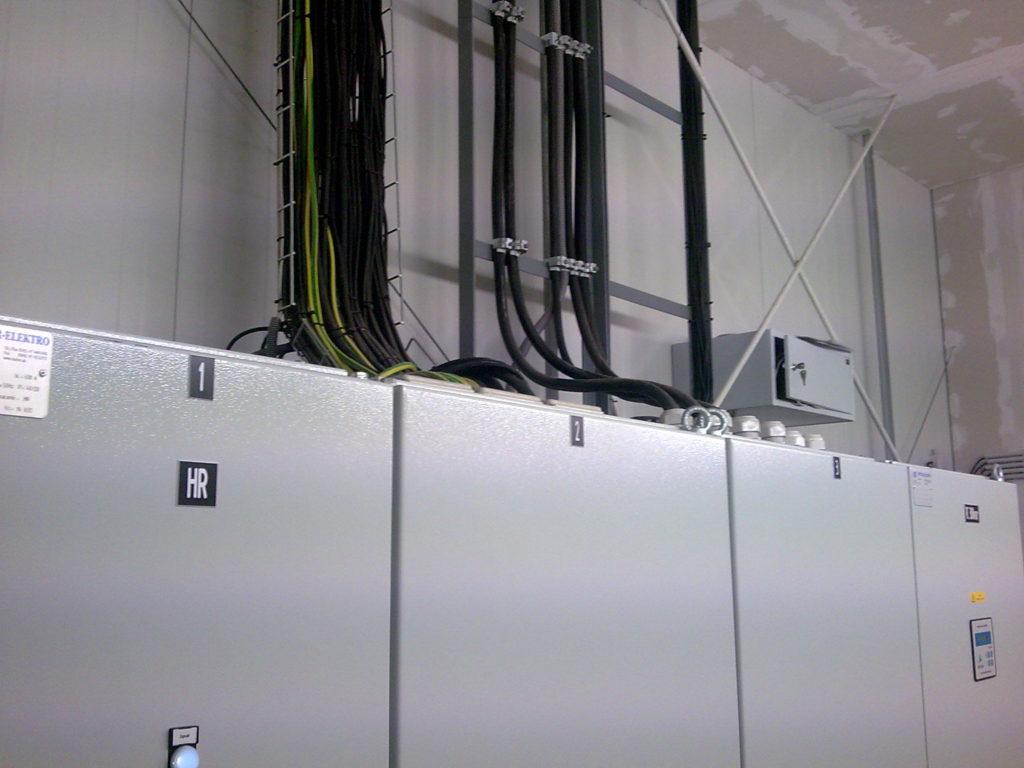 PRP s.r.o Elektroištalcia výrobná hala